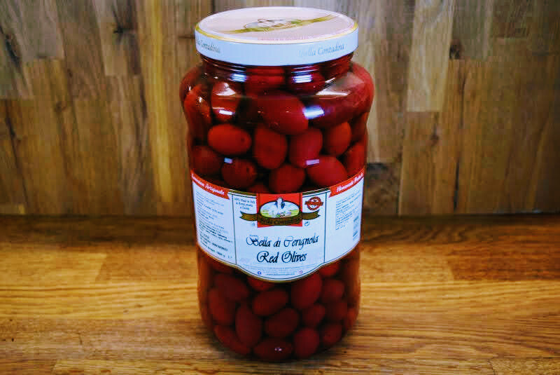 Bella Di Cerignola Olives - Red - 3L