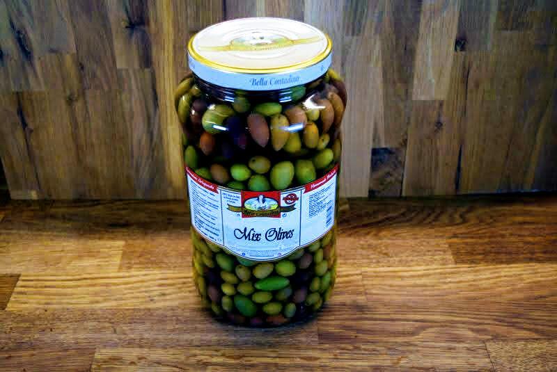 Bella Contadina - Italian Mixed Olives - 3L