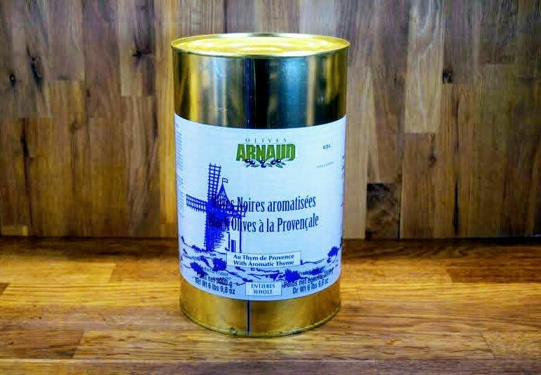 Arnaud Black Olives w/Herbs De Provence - 3L
