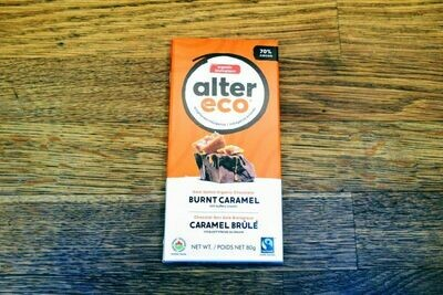 Alter Eco Dark Chocolate - Burnt Caramel