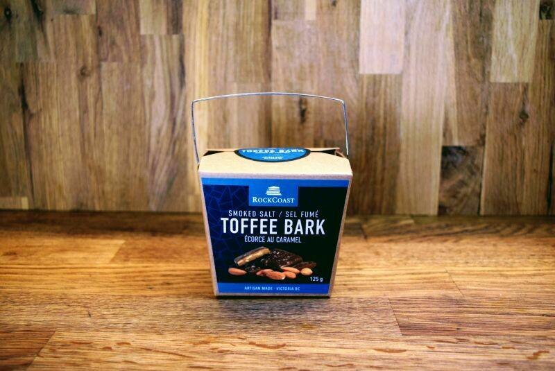 Rockcoast Toffee Bark - Smoked Salt (125g)