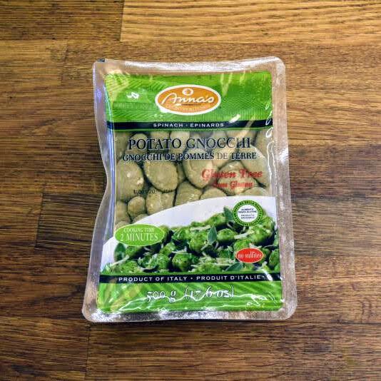 Anna's Potato Gnocchi - Spinach