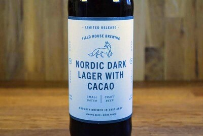 Field House Brewing - Nordic Dark Lager With Cacao