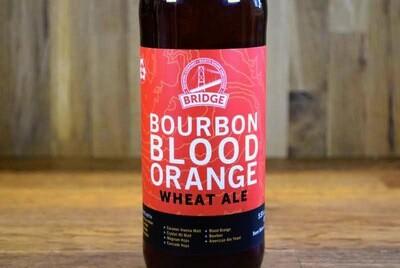 Bridge Brewing - Blood Orange Wheat Ale