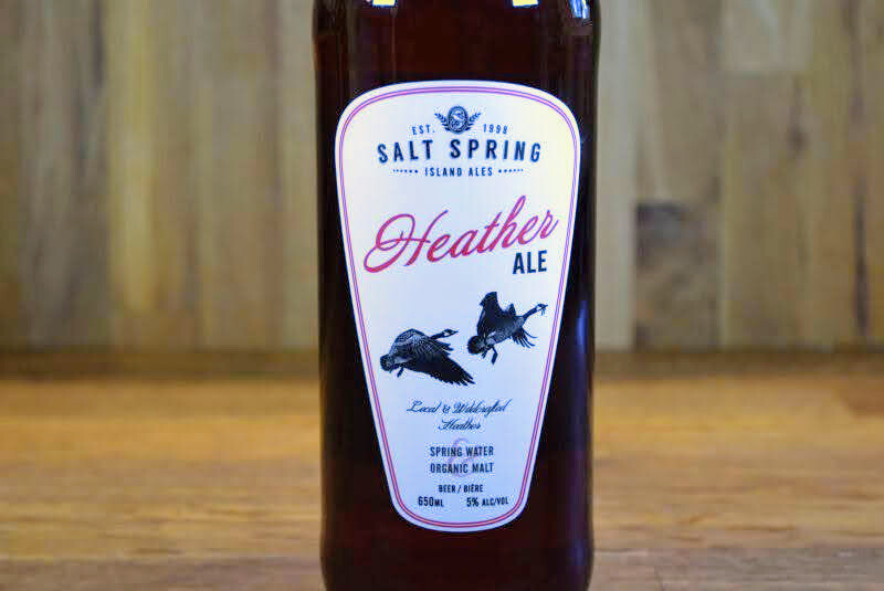 Salt Spring Ales - Heather Ale