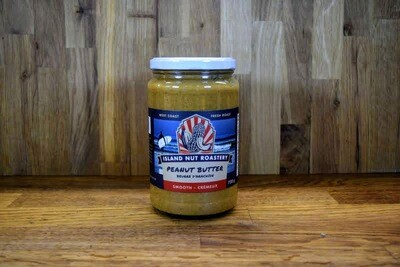 Island Nut Roastery - Smooth Peanut Butter - 750g