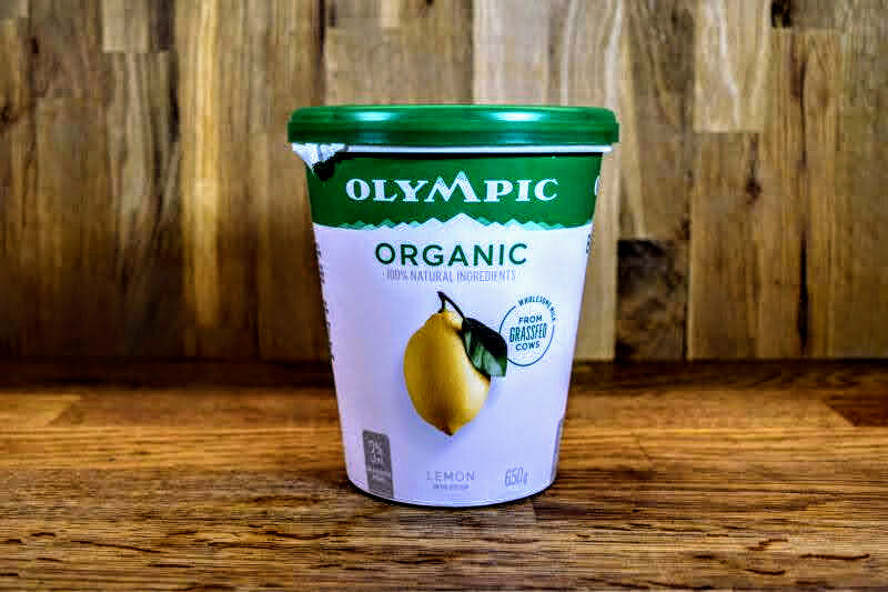 Olympic Organic Lemon Yogurt