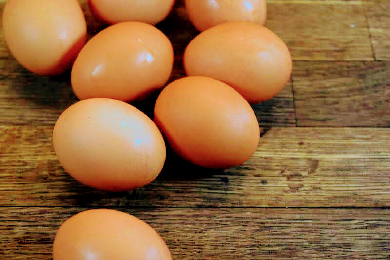 Free Range Hens - Large Brown Eggs (12)