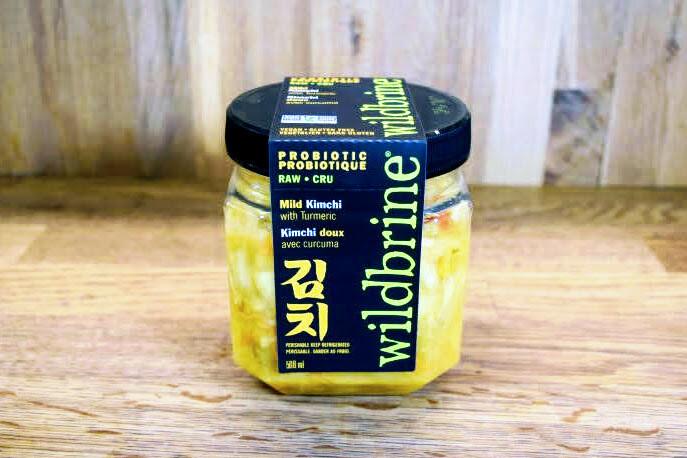 Wildbrine Probiotic Raw Kimchi with Turmeric