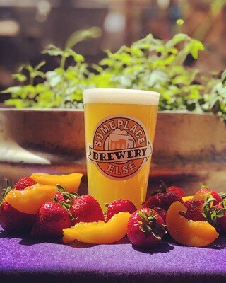 Socially Safe Strawberry Peach Kolsch