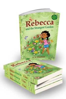Rebecca and the Strangest Garden  Paperback book