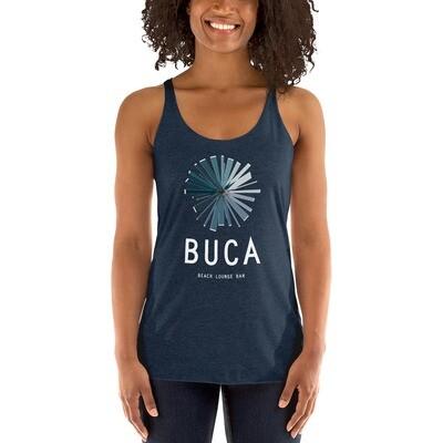 Women's Racerback Tank BUCA LOGO