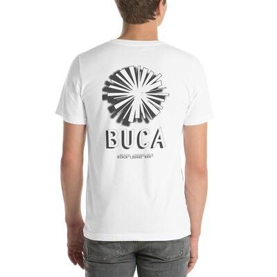 Short-Sleeve Unisex T-Shirt BUCA LOGO BnW