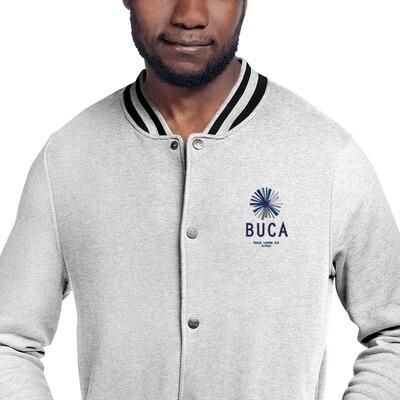 Embroidered Champion Bomber Jacket BUCA LOGO