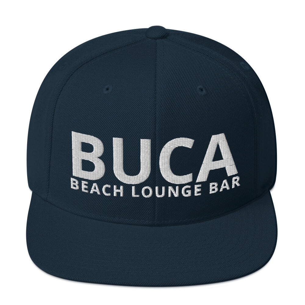 Snapback Hat BUCA Beach Lounge Bar