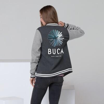 Women's Letterman Jacket BUCA Beach Lounge Bar LOGO