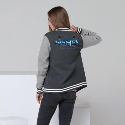 Women's Letterman Jacket PSZ LOGO