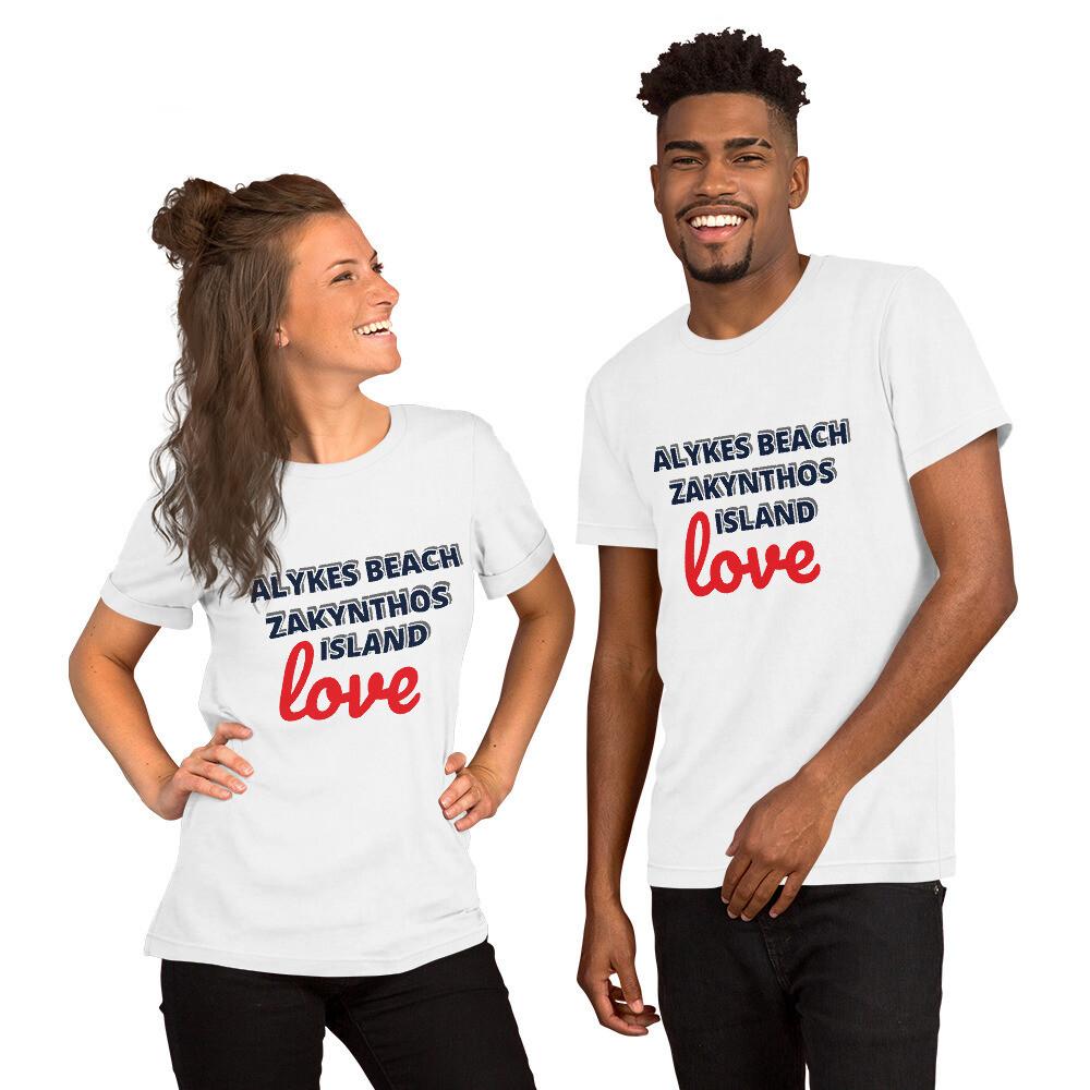 Short-Sleeve Unisex T-Shirt LOVE ALYKES