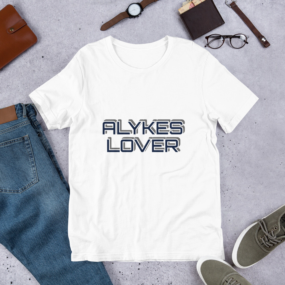 Short-Sleeve Unisex T-Shirt ALYKES LOVER by BUCA