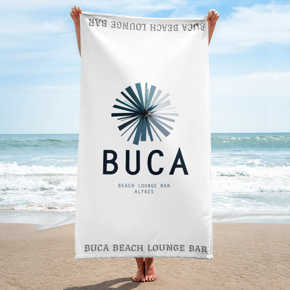Beach Towel BUCA® LOGO