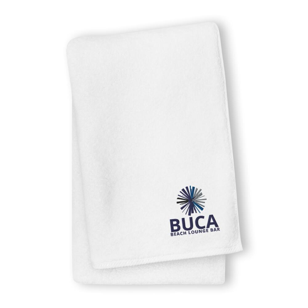 Premium Oversized cotton towel BUCA LOGO