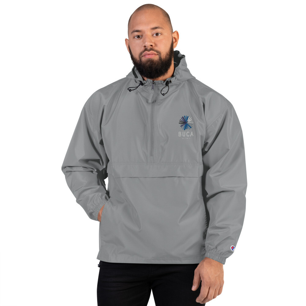 Embroidered Champion Packable Jacket BUCA LOGO