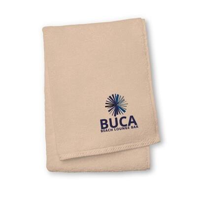 Premium Oversized cotton towel BUCA LOGO®