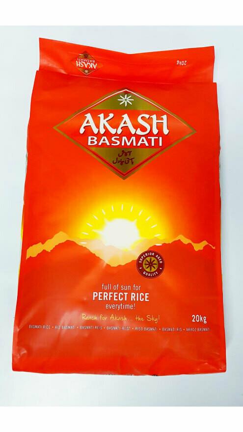 Riz long Basmati Akash, 5 kg.
