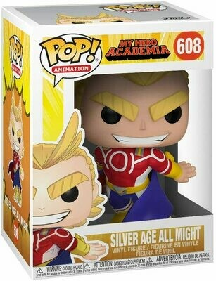 Funko Pop! All Might Silver Age My Hero Academia