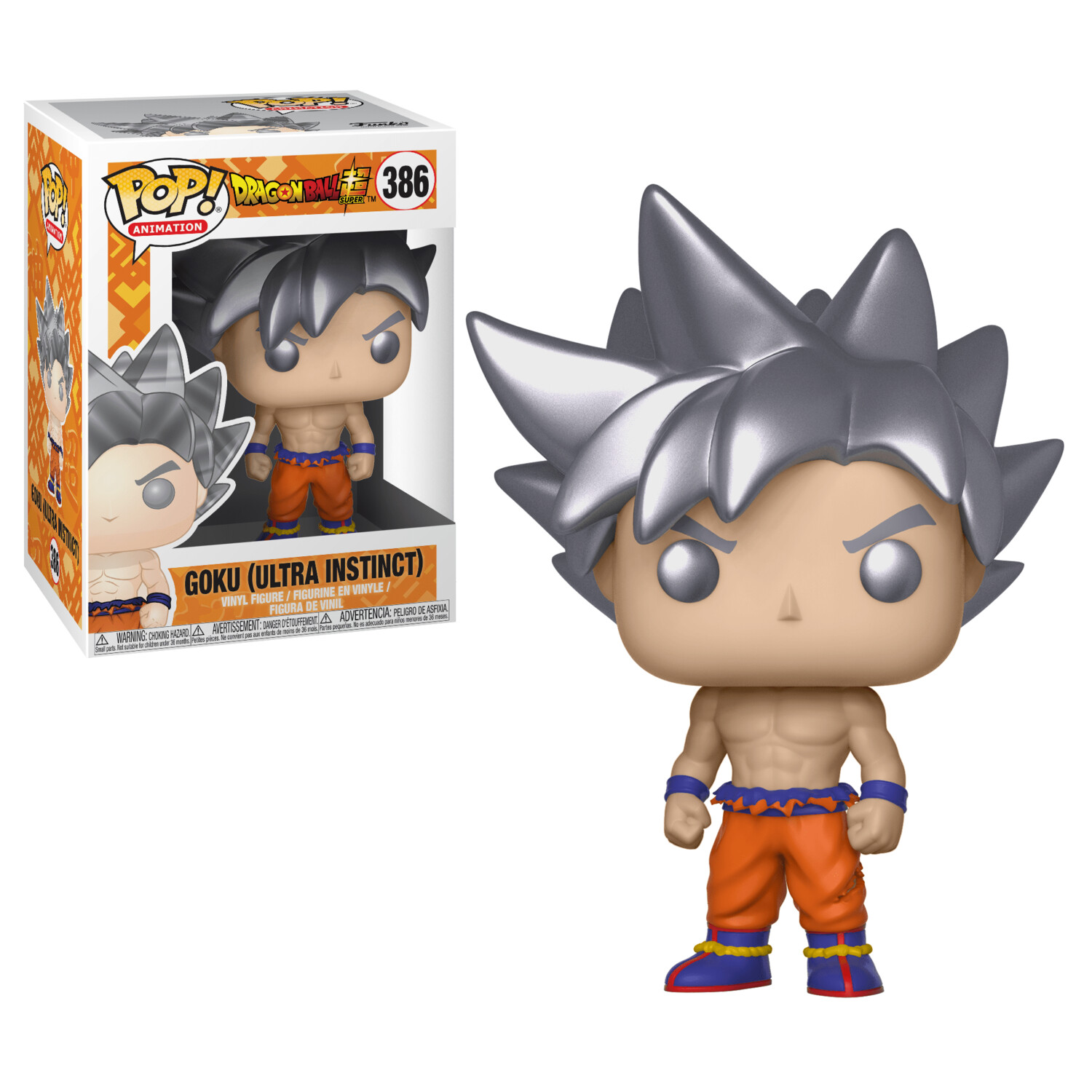 Funko Pop! Goku Ultra Instinct Dragon Ball