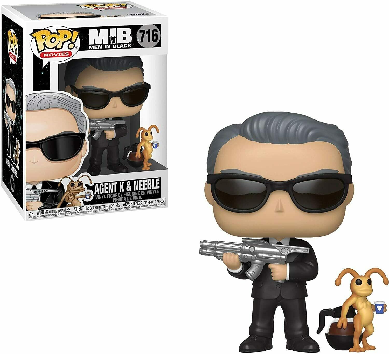 Funko Pop! Agente K y Neeble Hombres de Negro