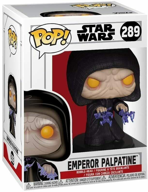 Funko Pop! Emperador Palpatine #289 Star Wars