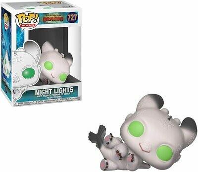 Funko Pop! Night Lights Blanco Como Entrenar tu Dragón