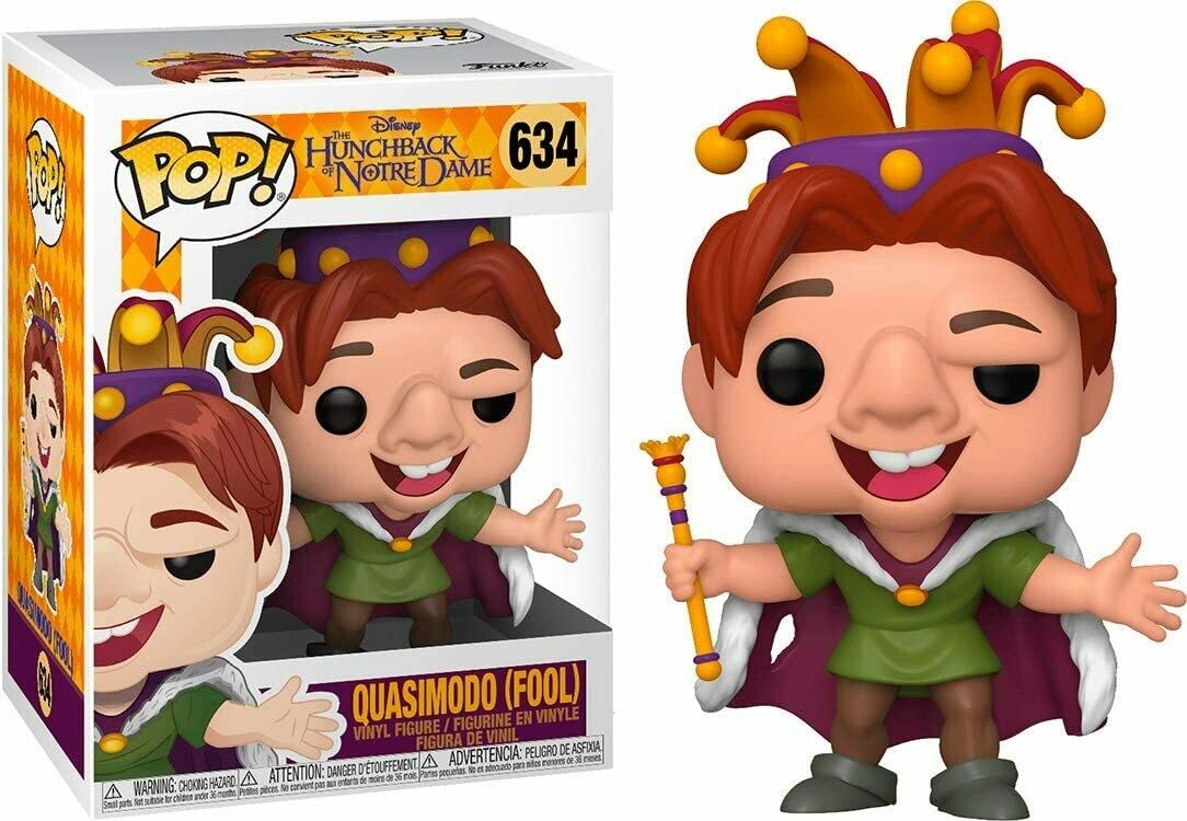 Funko Pop! Quasimodo Fool El Jorobado de Notre Dame