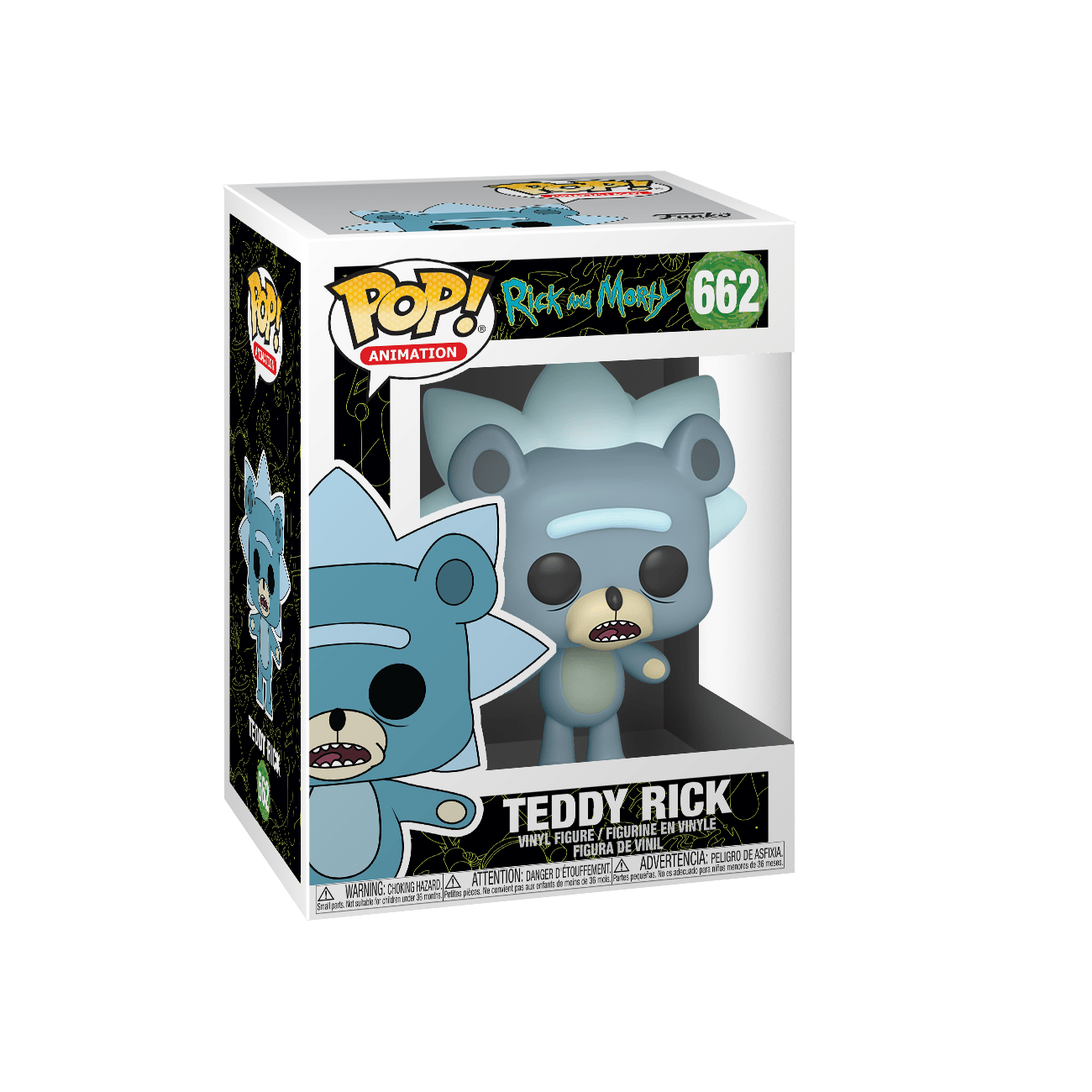 Funko Pop! Teddy Rick - Rick y Morty