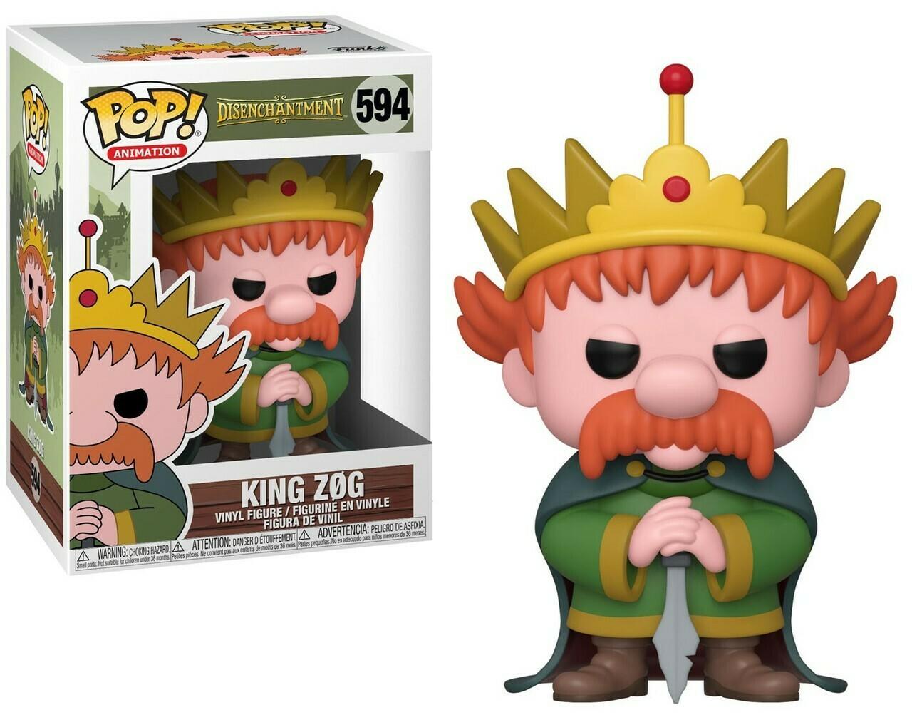 Funko Pop! Rey Zog Desencanto