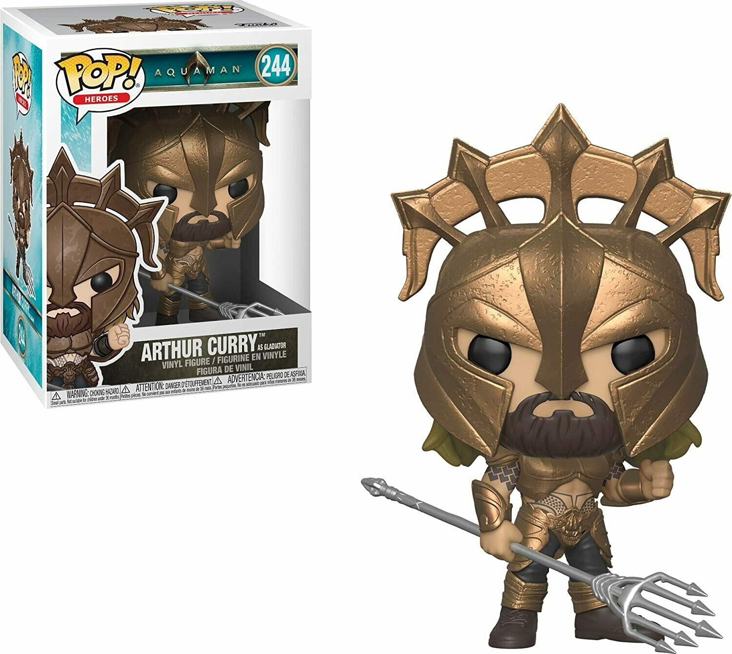 Funko Pop! Aquaman Arthur Curry Gladiador