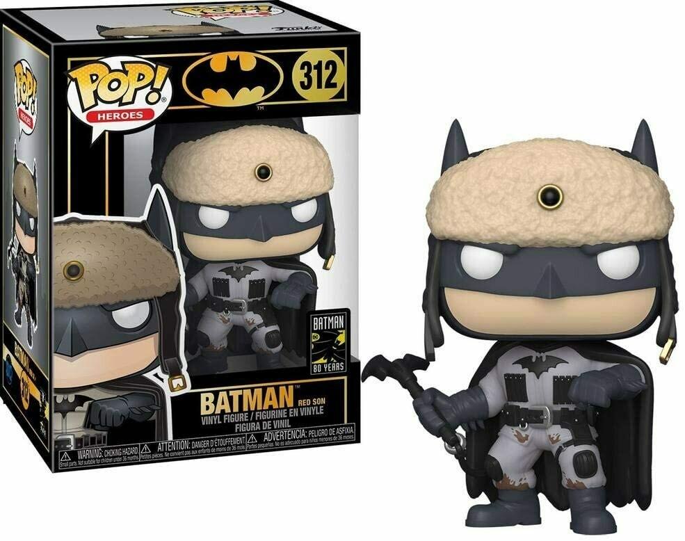 Funko Pop! Batman Red Son 80 Aniversario