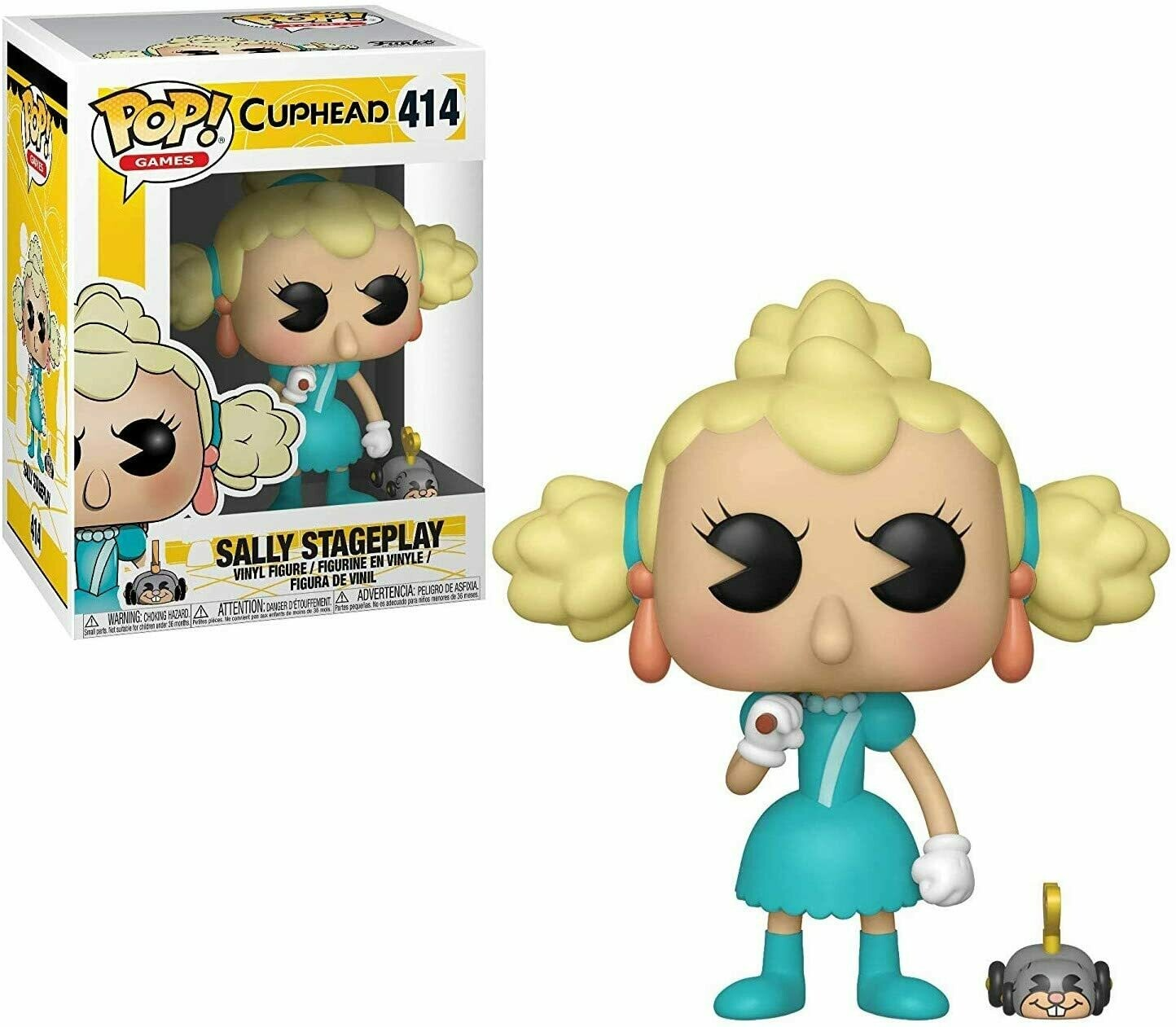 Funko Pop! Sally Stageplay Cuphead