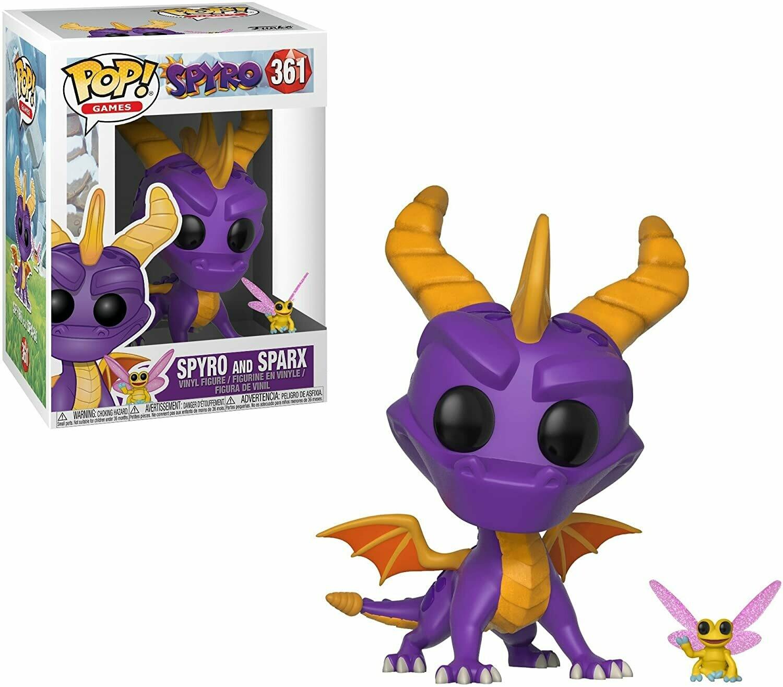 Funko Pop! Spyro y Sparx