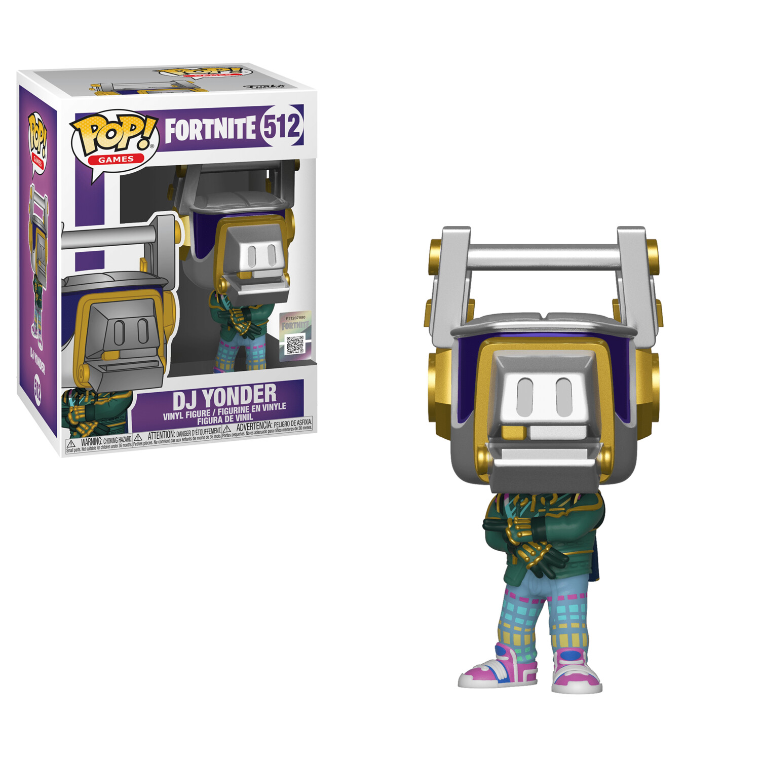Funko Pop! Fortnite Dj Yonder
