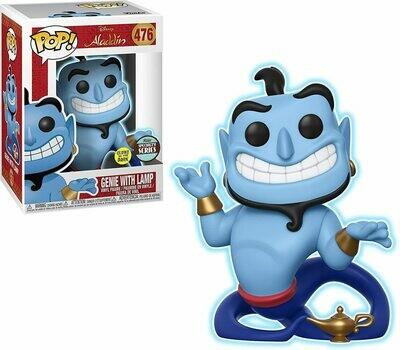 Funko Pop! Genio con Lampara Aladdin Brilla Oscuridad