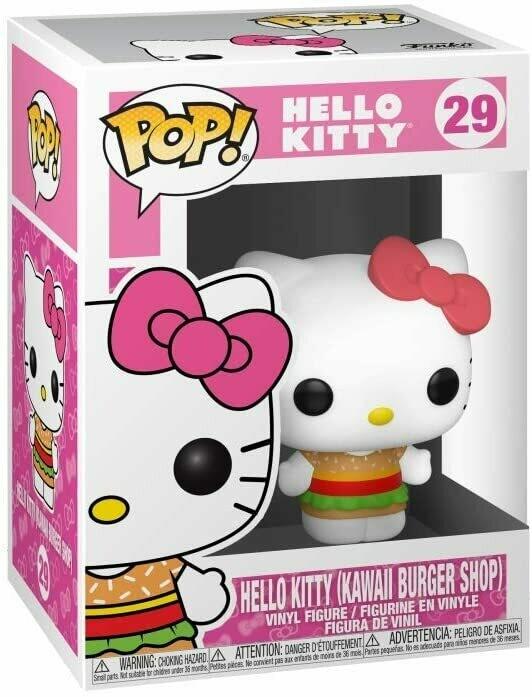 Funko Pop! Hello Kitty Hamburguesa Kawaii Shop
