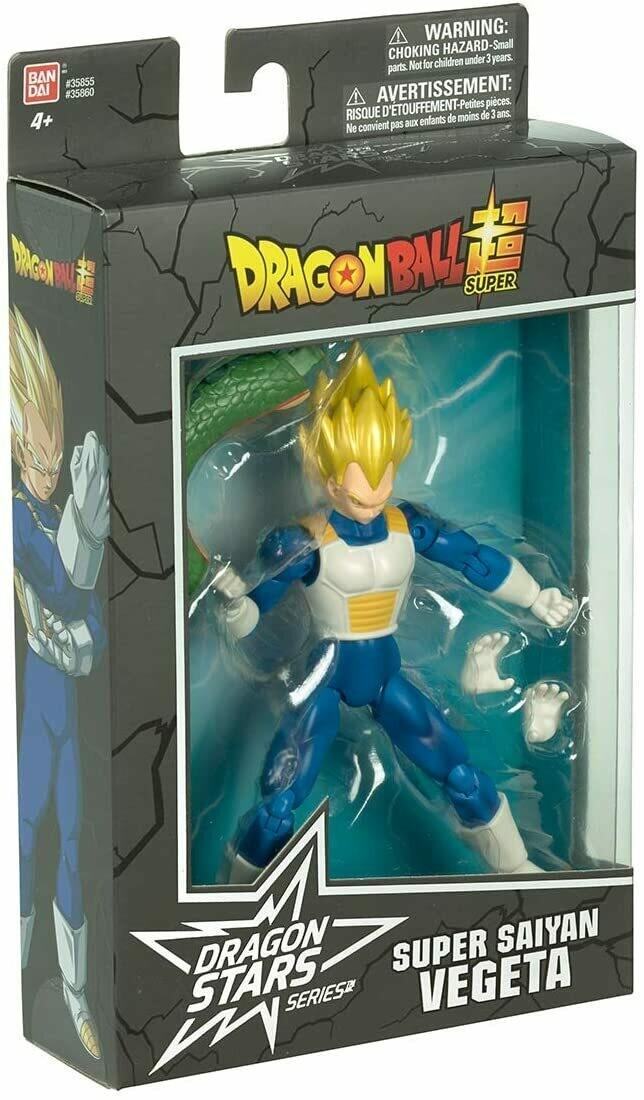 Figura Articulada Vegeta Super Saiyan Dragon Stars