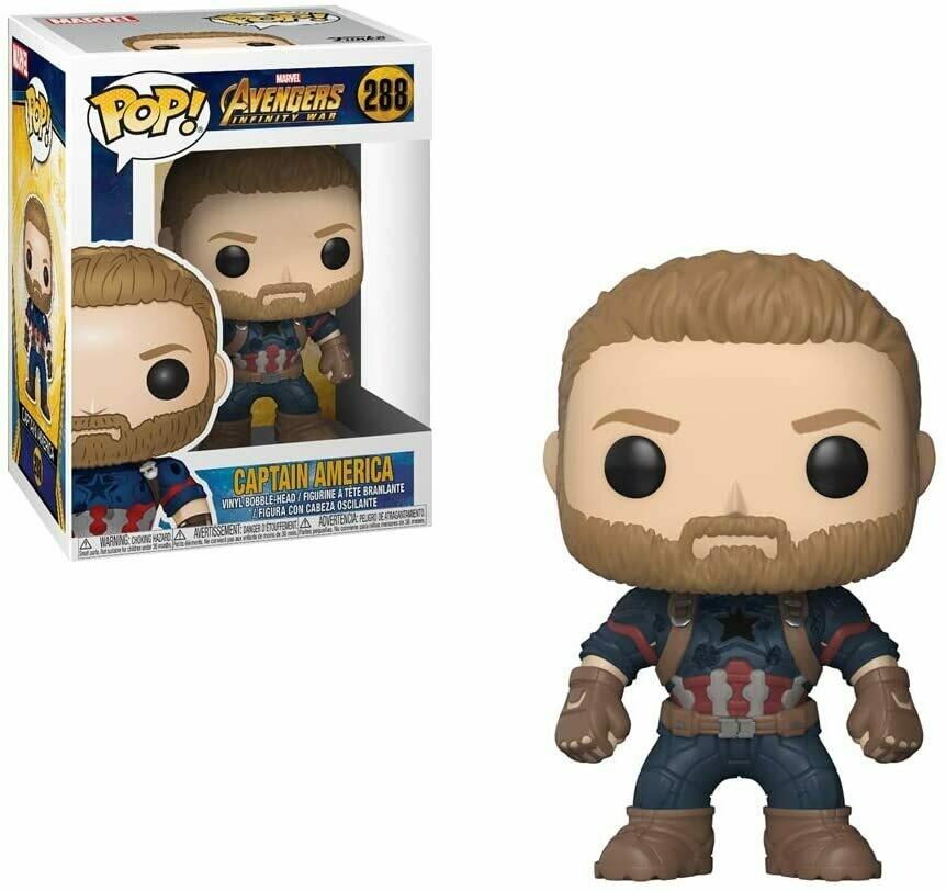 Funko Pop! Marvel: Capitan America Avenger Infinity War