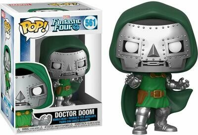 Funko Pop! Marvel: Doctor Doom Los 4 Fantasticos