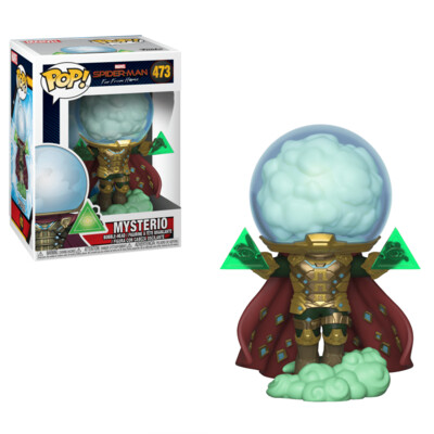 Funko Pop! Marvel: Mysterio Spiderman Lejos de Casa