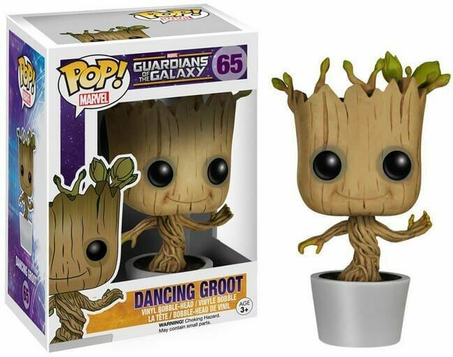 Funko Pop! Marvel: Dancing Groot Guardianes de Galaxia