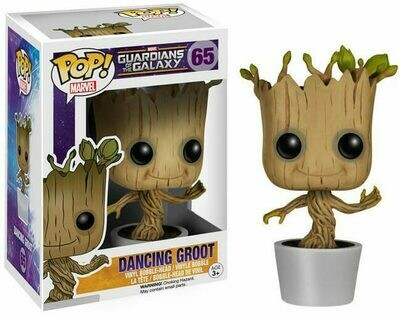 Funko Pop! Marvel: Dancing Groot Guardianes de Galaxia