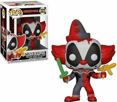 Funko Pop! Marvel: Deadpool Payaso